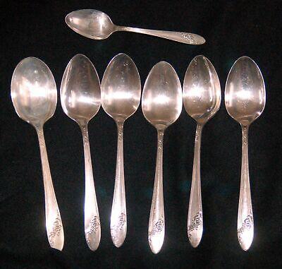 Community Brand Affection 1960 Pattern Infant Feeding Spoon 5.5 Silverplate