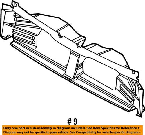 FORD OEM 15-16 F-150 Splash Shield-Under Engine//Radiator Cover FL3Z16054A