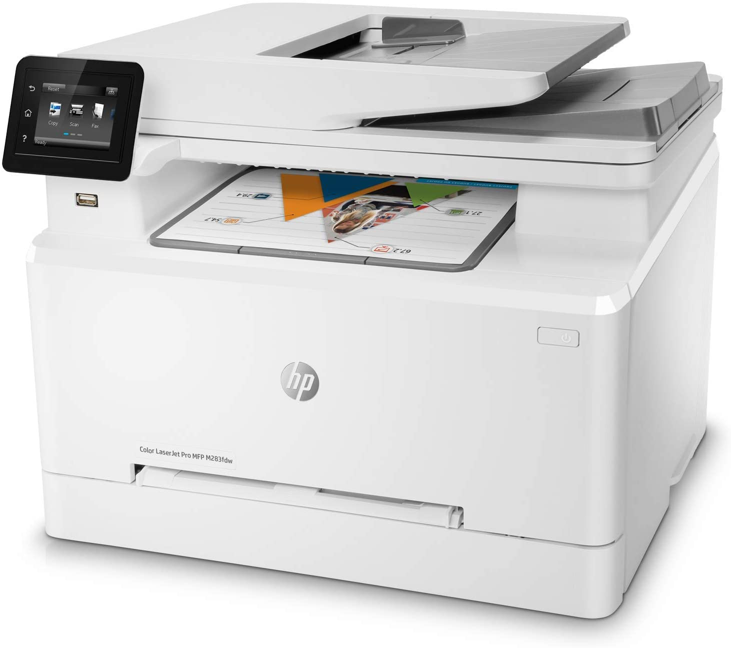 HP M283fdw LaserJet Pro All in One Wireless Color Laser Prin