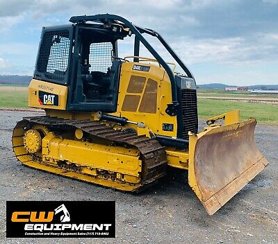 2019 Cat D4k2 Lgp Crawler Dozer Low Hours Warranty