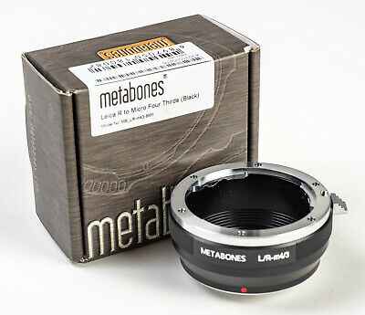 Metabones LEICA R-Micro 4/3 Adapter w/Box - EXCELLENT for sale  San Clemente