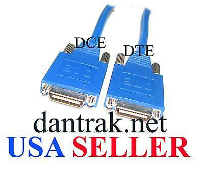5ft Smart Serial Cable Cisco Wic-2t Back To Back Dce/dte