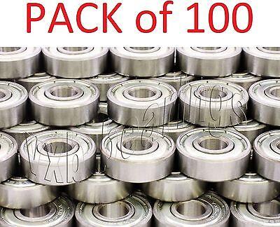 Packlot 100 Inlineskateskateboard Ball Bearings 608z Roller Hockey Scooters