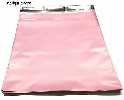 25 Pale Pink Color Poly Mailer Bags 14.5 X 19 Boutique Shipping Envelope Mailing
