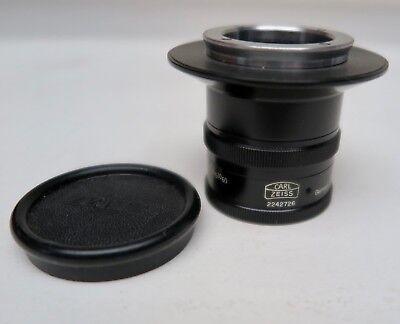 Carl Zeiss 100mm 163 Microscopecamera Lens Sn 2242726 Free Shipping