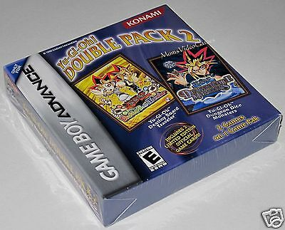 Yu-gi-oh Double Pack 2 (game Boy Advance) With Limited Edition Cards