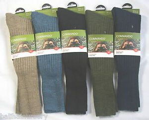 HJ Hall Commando Thermal Socks, hunting, fishing, army, walking  6-13 HJ3000