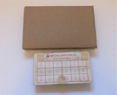 Capacitor Kit Metalized Mylar Polyester Film Assorted Assortment Box Set