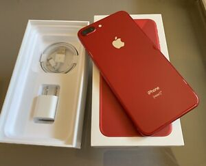 iPhone 8 Plus  64gb* UNLOCKED -RED - Works Great  - Price Firm