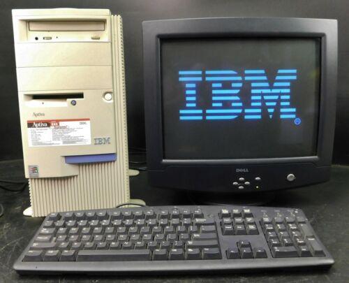 Vintage IBM Aptiva E85 AMD K6 300mhz 64 MB RAM Computer