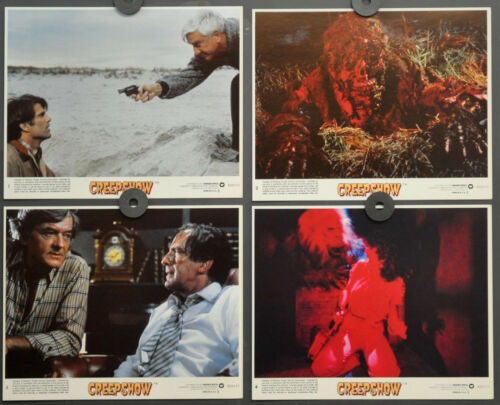 CREEPSHOW 1982 ORIGINAL 8X10 LOBBY CARD SET HAL HOLBROOK LESLIE NIELSEN
