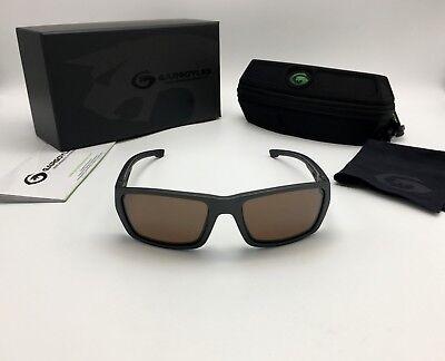Gargoyles Eyewear Siege POLARIZED Graphite Safety Sunglasses, Brown/Silver Lens Gargoyles Eyewear Sunglasses