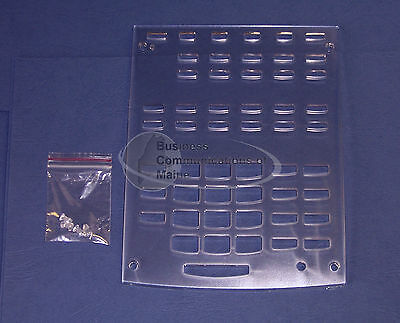 Plastic Desi Cover For Nec Aspire Ip1na-12txh 22-button Wdisplay Phone