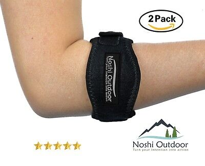 Best Tennis & Golfer's Elbow Band/Brace with Neoprene Compression Gel
