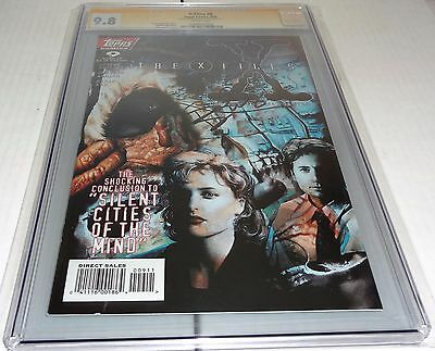 X-Files #9 CGC SS 9.8 Signature Autograph DAVID DUCHOVNY Signed Topps Comics 🔥