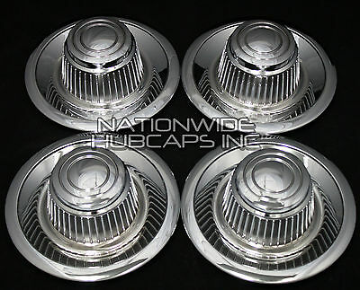 Set of 4 Chevy GM Rally Wheel Center Hub Caps 15x8 15x7 Rim Derby Cap Trim Rings - Wholesale Derby Hats