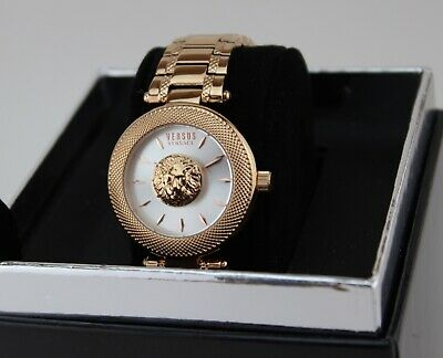 NEW AUTHENTIC VERSUS BY VERSACE BRICK LANE ROSE GOLD WOMEN'S VSP640318 WATCH