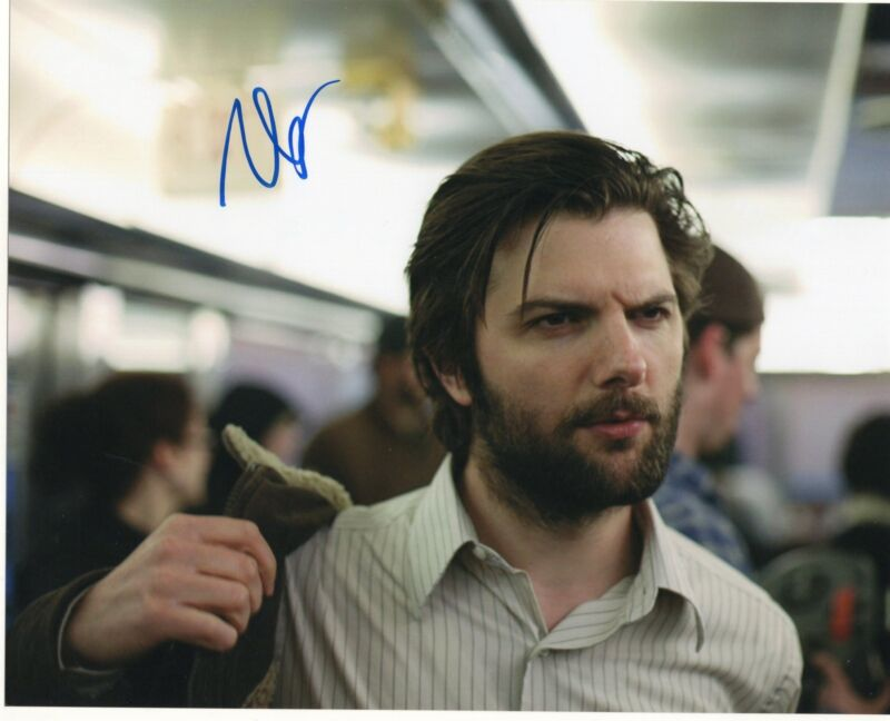 Adam Scott Parks and Recreation Step Brothers Signed 8x10 Photo w/COA #6