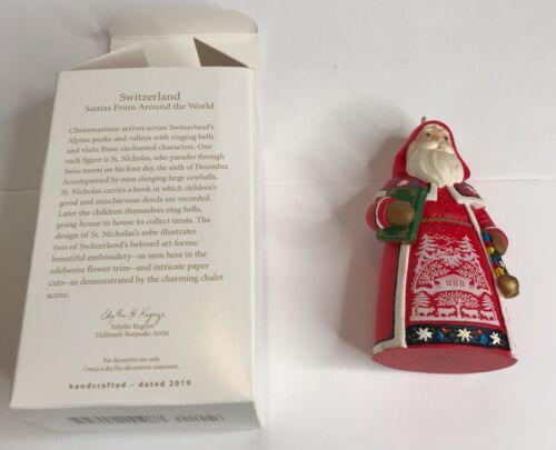 Hallmark Keepsake Ornament Santas from Around the World - Switzerland