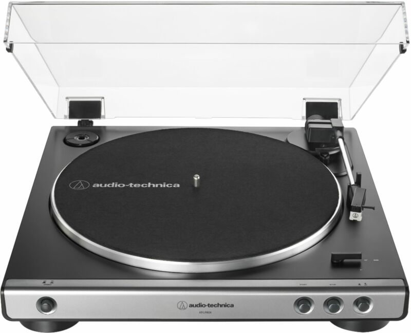 Audio-Technica - Stereo Turntable - Black/Gunmetal