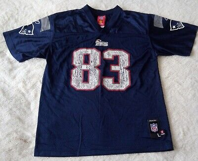 Vintage New England Patriots American Football Jersey - Wes Welker 83#