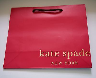 Kate Spade Speciality Store Paper Shopping Gift Bags 7.75 x 9.75 NEW