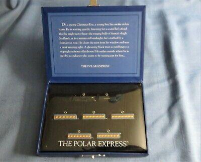 Hallmark ~ Christmas Tree Ornament ~ The Polar Express ~ Miniature Train Set