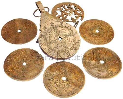 English Arabic Calendar Astrolabe Arabic Globe Navigation Astrological Calendar
