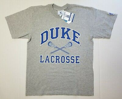 Vintage Official Duke University Store Lacrosse Shirt Men Sz Medium New (Official Duke Store)