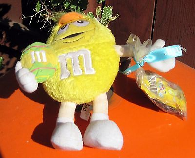 200X Galerie M&M'S Plush Figure (Yellow) + Chocolate Candy for sale  Los Angeles