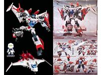 Transformers Maketoys Cross Dimension Rioter Despotron Megatron MISB New In USA!