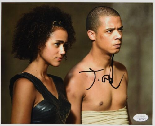 Jacob Anderson Game Of Thrones Signed Autograph JSA COA 8 x 10
