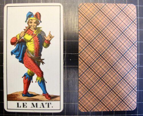 Tarot Single Replacement Card 1JJ Swiss AG Muller Vintage Choose Card