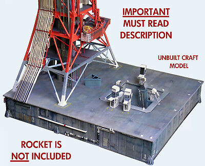 Launch Umbilical Tower LUT Craft Model for 1:72 Dragon Saturn V  *Pls. Read!