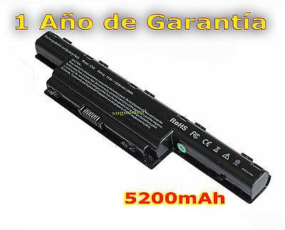 Batería Para Portatil ACER ASPIRE 5750G Li-ion 11,1v 5200mAh BT03 Battery
