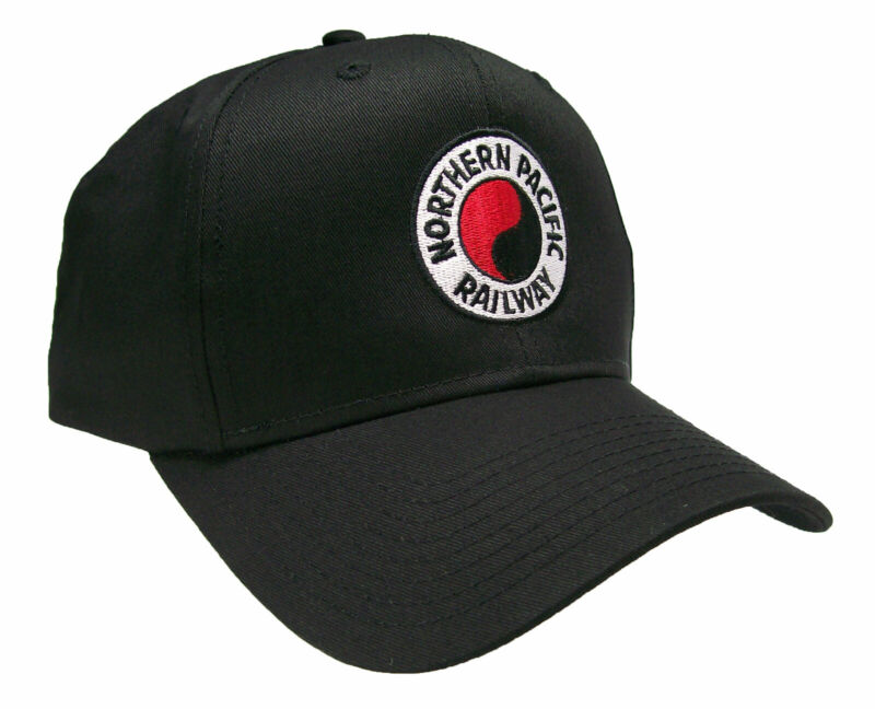 Northern Pacific Railway Embroidered Cap Hat #40-0039