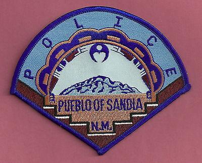 PUEBLO OF SANDIA NEW MEXICO TRIBAL POLICE PATCH