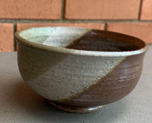 Small Round Vintage Studio Pottery Bowl Mid Century Modern Signed Deyoe