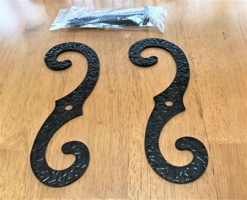 "Wrought Iron Shutter ""S"" Holder - 7"" Long"