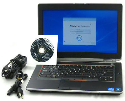 "Dell Latitude E6420 14"" Core i7 2.80GHz Windows 7 320GB 8GB Laptop Adapter WiFi"