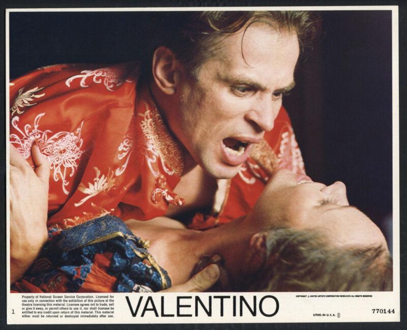 RUDOLF NUREYEV RUDOLPH VALENTINO MICHELLE PHILLIPS Valentino '77