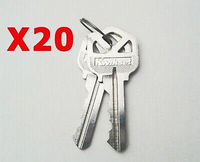 Kwikset Factory Cut Keys 20 Pairs. Kw1 5pin Free Shipping Smartkey