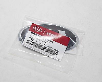 Rear KIA Logo Trunk Emblem 1Pcs Genuine 863182T000  For Kia Rio 2013 2014