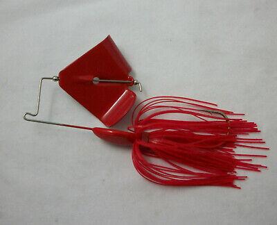 1//4 Oz Chart//Gold Glitter Custom Topwater Buzzbait Lures- 2 -Bass Fishing-NEW