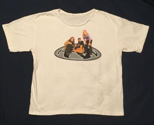 Vintage 1997 Official HANSON T SHIRT -- PolyGram Merchandising, size S