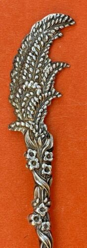 PERFECT GIFT FOR LIZBETH STERLING SILVER SOUVENIR SPOON