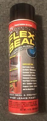 Flex Seal Spray Rubber Sealant Coating 14-oz Black 1 Pack