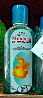 - SBL Arnica Montana Homeopathy Herbal Shampoo Wth AJC 100ml For Soft Healthy Hair