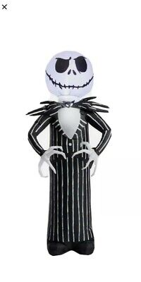 Nightmare Before Christmas Jack Skellington LED Inflatable Yard Decoration