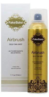 New Fake Bake Airbrush Luxurious Golden Bronze Streak Free Instant Self Tan 7 oz